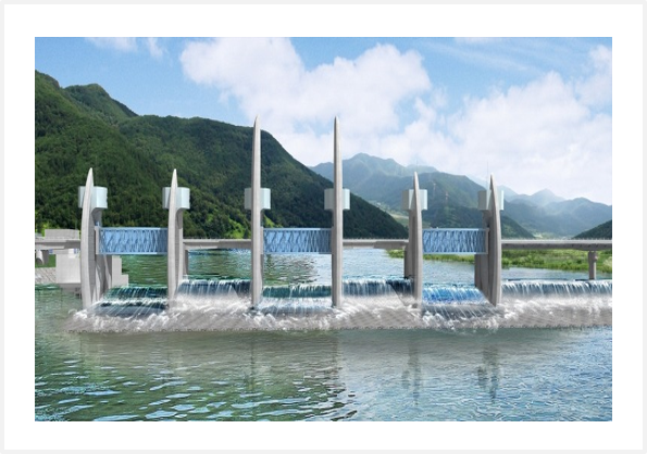 4 Major Rivers Project Hapcheon SHPP in Nakdong River