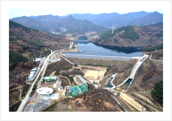 Micro SHPP at Yecheon Pumped Storage Plant