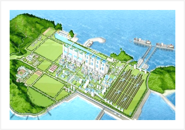 Taean Thermoelectric power plant units 9 and 10 in Korea